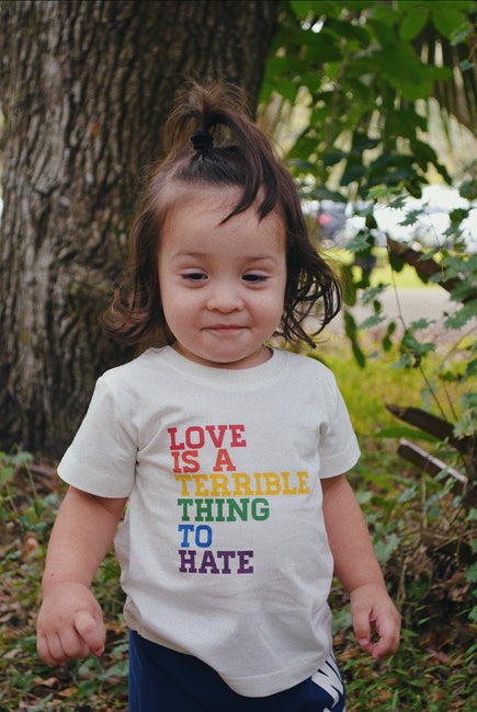 LOVE IS A TERRIBLE THING TO HATE | KIDS