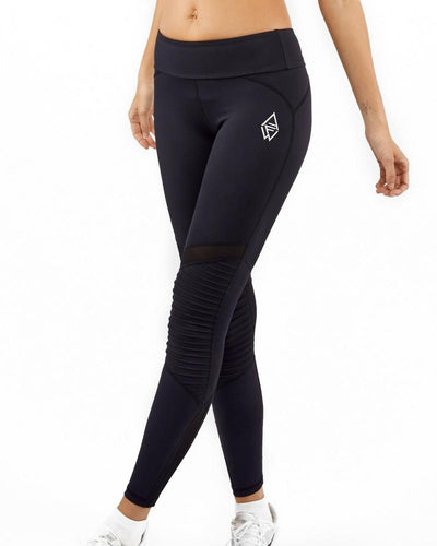 BLACK SQUAD MOTO TIGHTS