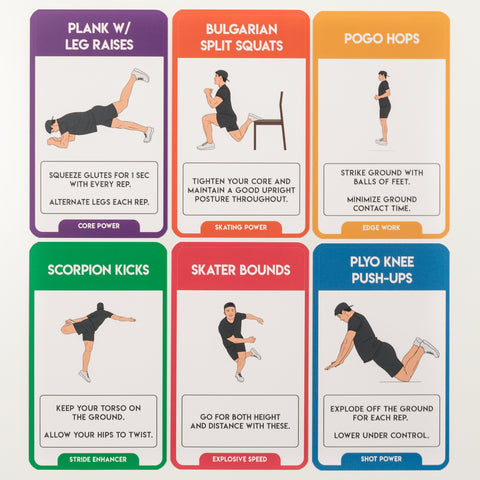 Hockey Training Cards