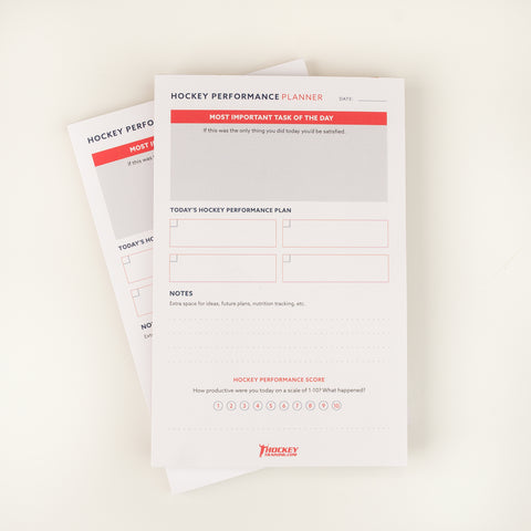 Hockey Performance Planner (2 Pack)