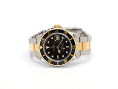 USED ROLEX SUBMARINER DATE 16803 BLACK