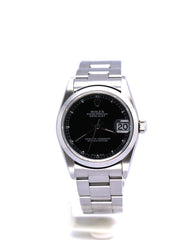 ROLEX 31MM DATEJUST 78240 BLACK