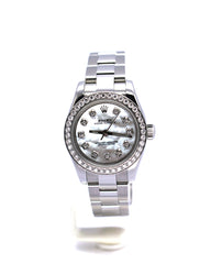 ROLEX LADY OYSTER PERPETUAL 176200 MOP DIAMONDS