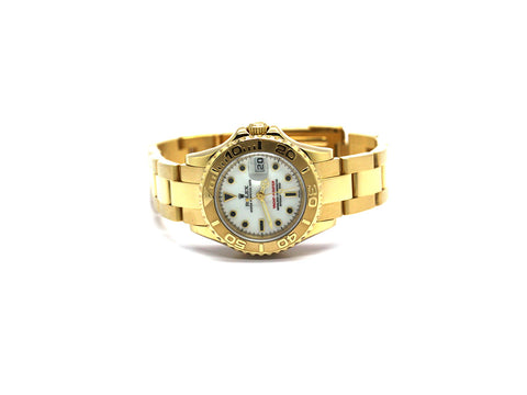 USED ROLEX YACHT-MASTER 29MM 169628 18K