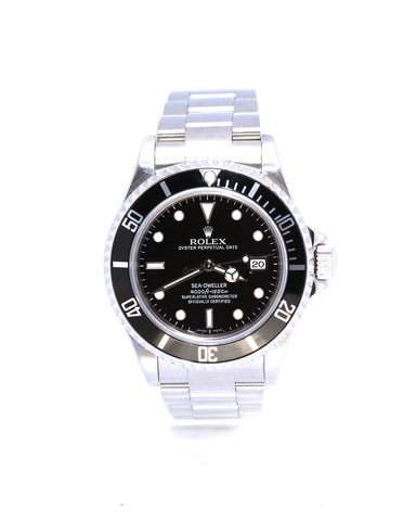 ROLEX SEA-DWELLER 16600T DIVER'S TIMING BEZEL M SERIAL