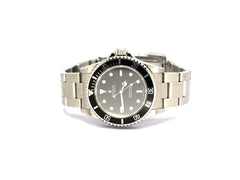 ROLEX SUBMARINER NO DATE 14060M FLAT FOUR TWO LINER