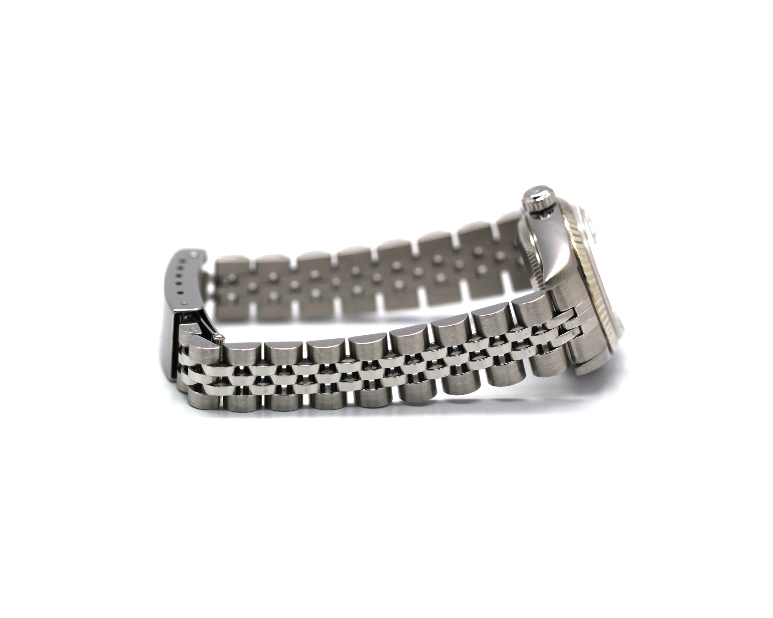 By the end of the day Lurexborte zigzag silver 26 mm