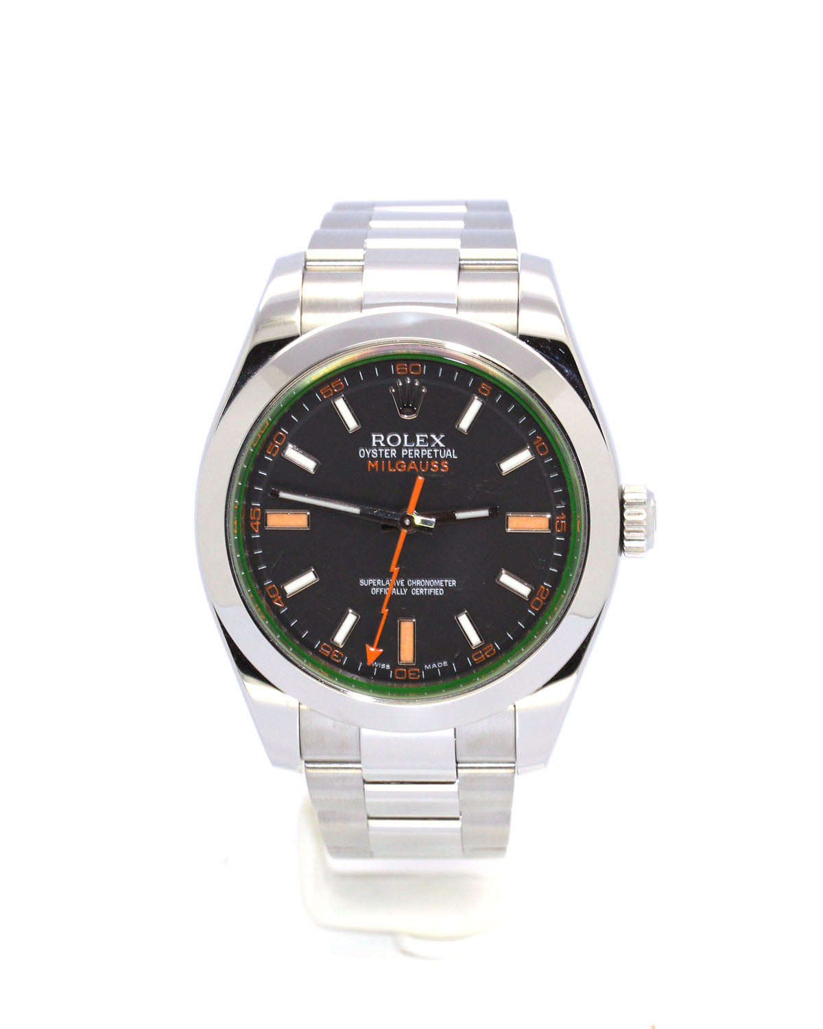 PREOWNED ROLEX MILGAUSS 116400 40MM
