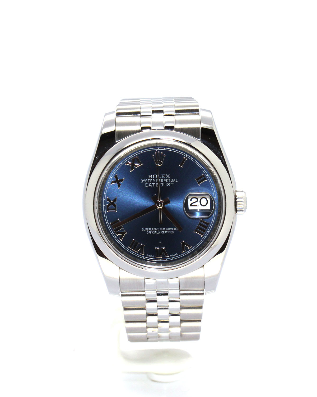ROLEX OYSTER PERPETUAL DATEJUST 116200 JUBILEE