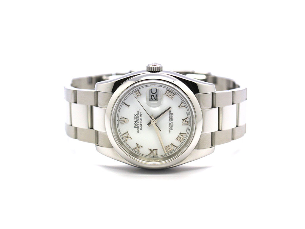 ROLEX OYSTER PERPETUAL DATEJUST 116200 OYSTER ROMAN
