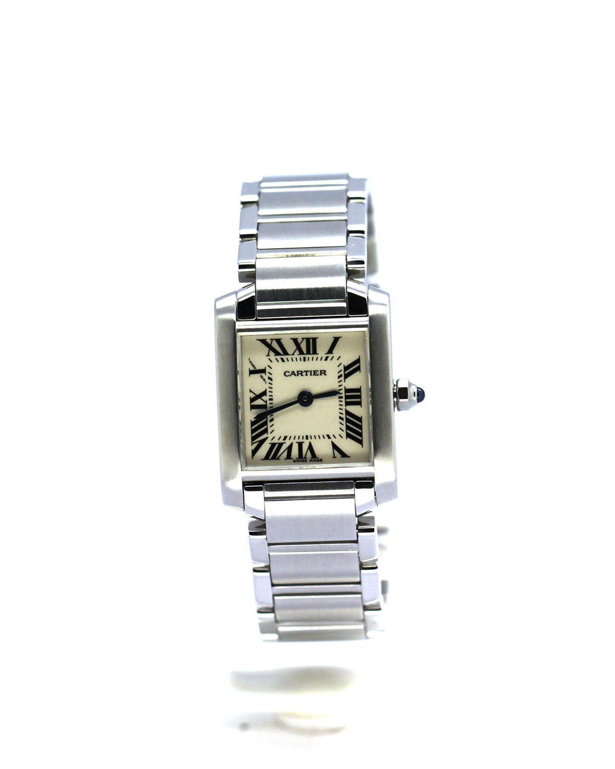 LADIES CARTIER TANK FRANÇAISE SS 2384