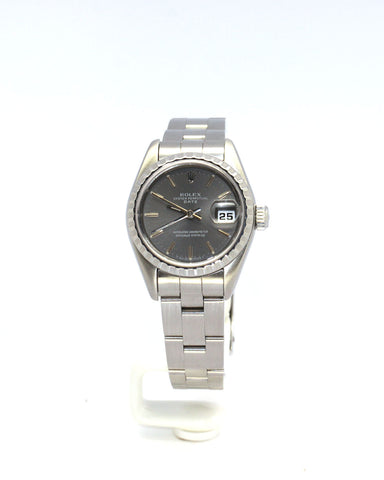 PREOWNED ROLEX DATE 79240 STEEL