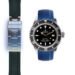 Everest Curved End Rubber for Rolex Sea-Dweller Deployant