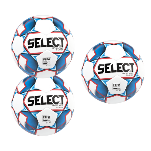NJCAA Brillant Super Pack - 3 Balls