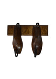 Wooden Shoe Hanger