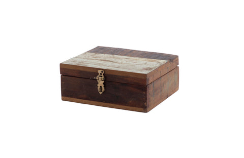 Wooden Box with 6 Slot Divider