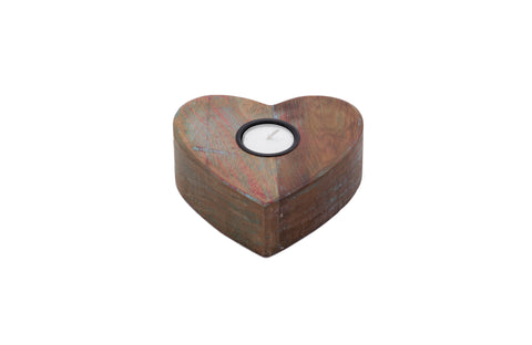 Candle Holder - Heart Shaped Tea Light Candle Holder