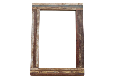 "Mirror - 11"" x 19"" - Wooden Frame"