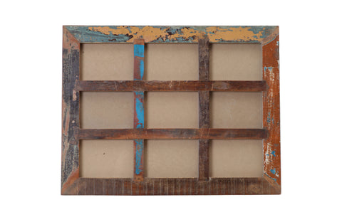 "Picture Frame - Nine Panel of 4"" X 6"""