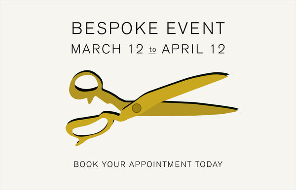 Spring Bespoke Event - TO BE RESCHEDULED POST COVID
