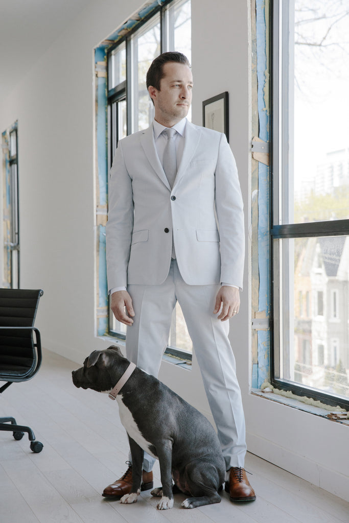 Shop Sydneys Toronto presents Grant Van Gameren wedding suit