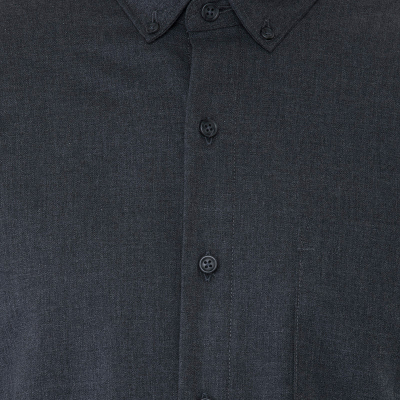 Graphite Herringbone Shirt - Sydney's, Toronto, Bespoke Suit, Made-to-Measure, Custom Suit,
