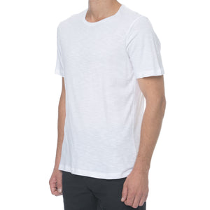White Slub T-Shirt - Sydney's, Toronto, Bespoke Suit, Made-to-Measure, Custom Suit,
