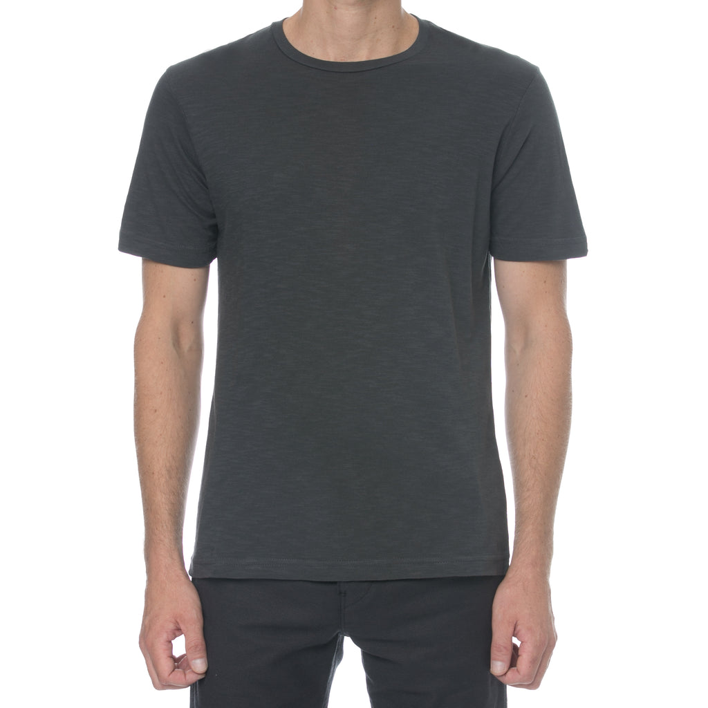 Charcoal Slub T-Shirt - Sydney's, Toronto, Bespoke Suit, Made-to-Measure, Custom Suit,