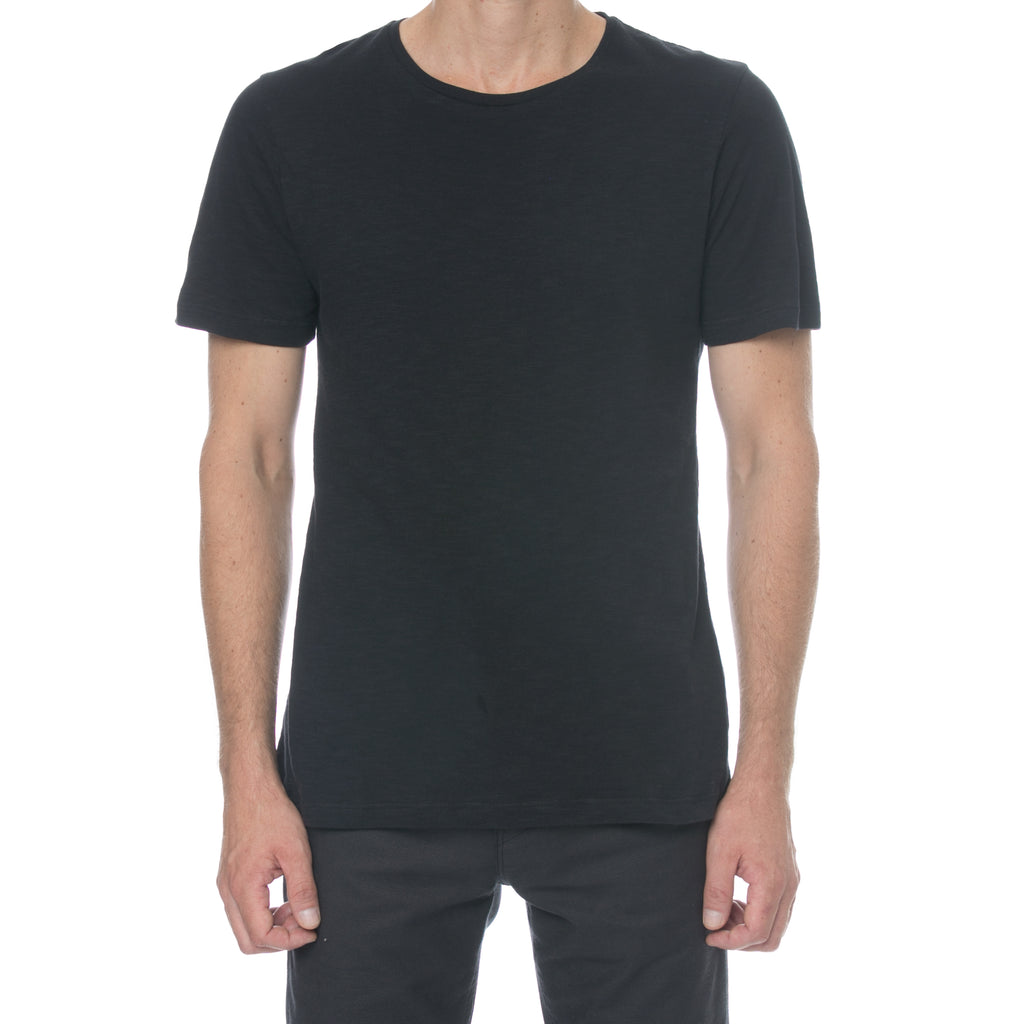 Black Slub T-shirt - Sydney's, Toronto, Bespoke Suit, Made-to-Measure, Custom Suit,