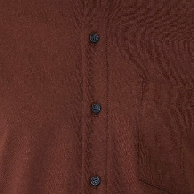 Rust Twill Shirt - Sydney's, Toronto, Bespoke Suit, Made-to-Measure, Custom Suit,