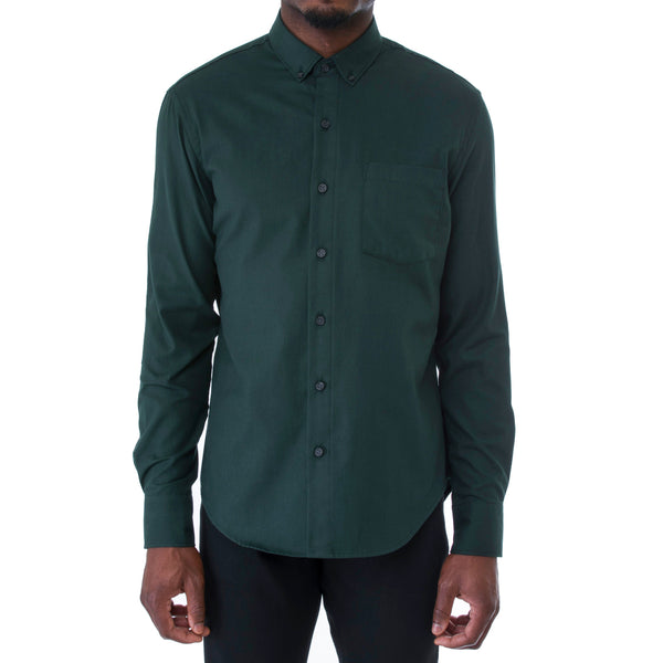 Emerald Twill Shirt - Sydney's, Toronto, Bespoke Suit, Made-to-Measure, Custom Suit,