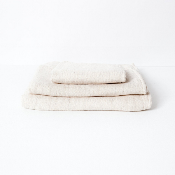 Claire Towel Set, Almond Powder