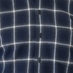 Indigo Plaid - Sydney's, Toronto, Bespoke Suit, Made-to-Measure, Custom Suit,