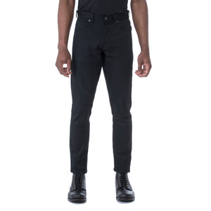 HT Black Stretch 12 oz. Denim - Sydney's, Toronto, Bespoke Suit, Made-to-Measure, Custom Suit,