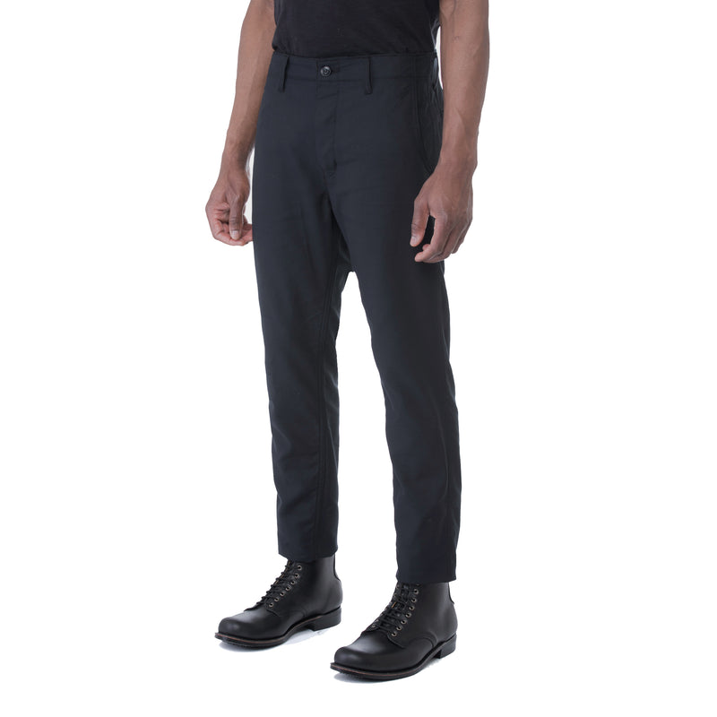 Black Dobby HT Chino Trouser - Sydney's, Toronto, Bespoke Suit, Made-to-Measure, Custom Suit,