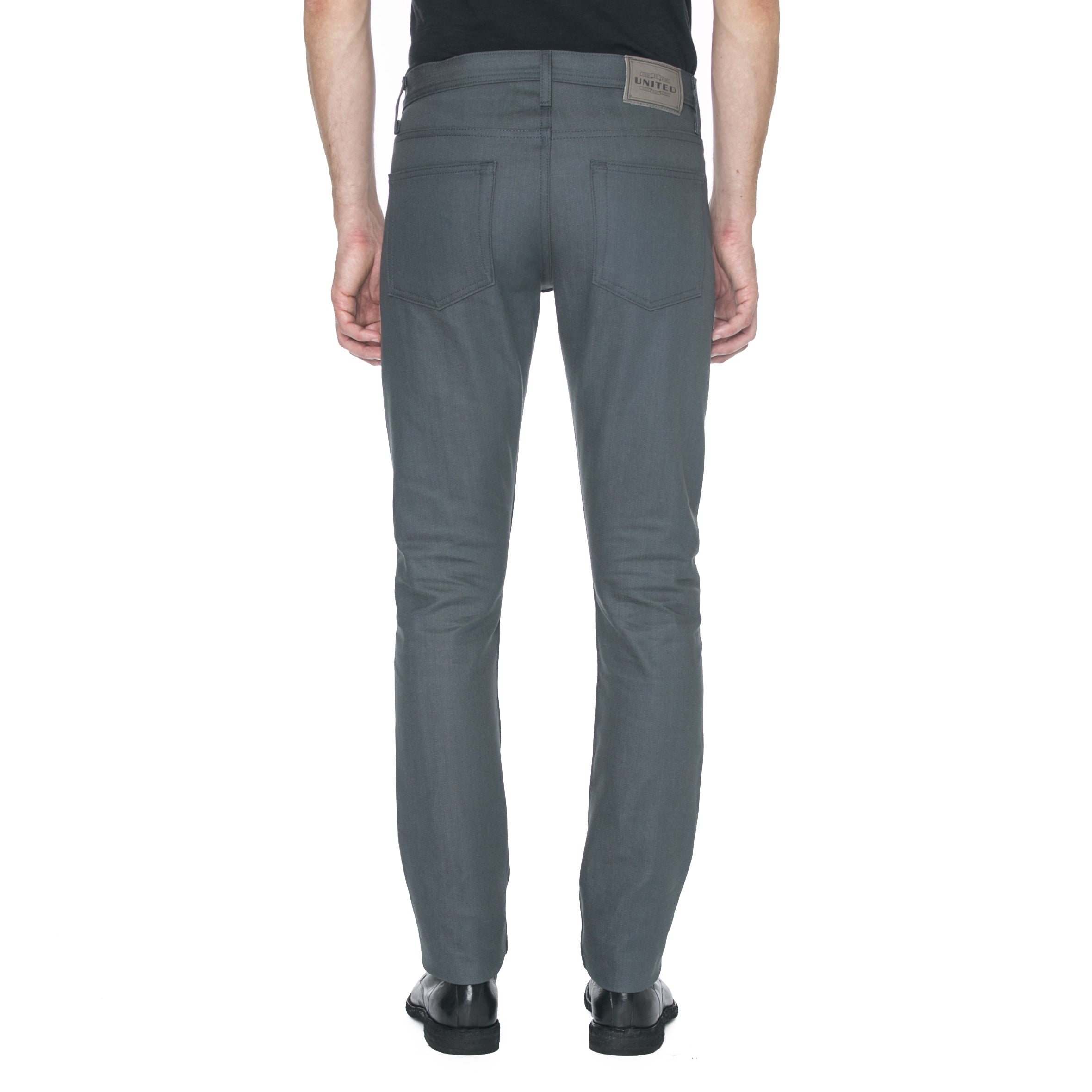 Narrow Fit Grey Denim