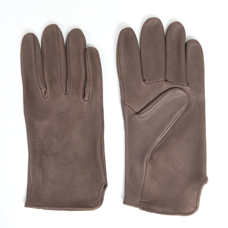 Brown Deerskin Leather Gloves - Sydney's, Toronto, Bespoke Suit, Made-to-Measure, Custom Suit,