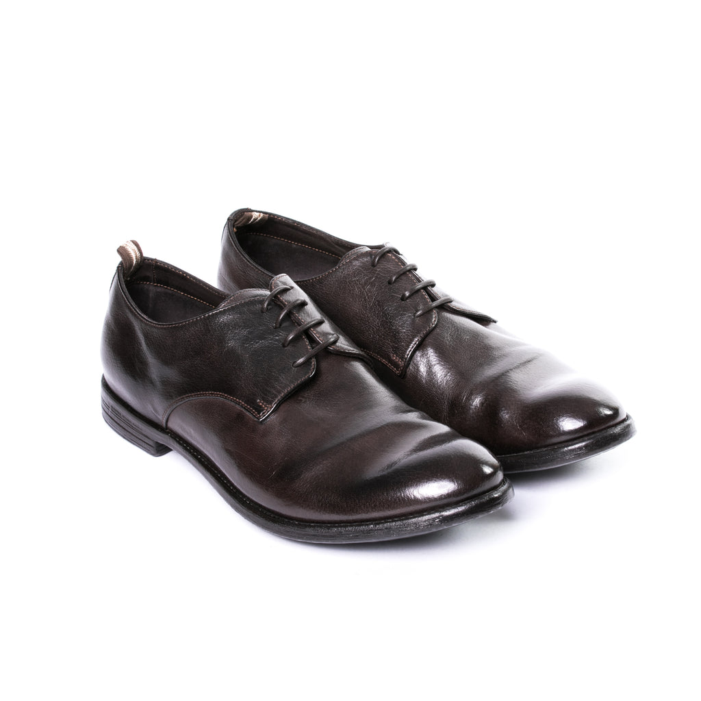 Bufalo Arc 510 Ignis T. Ebano Derby Shoes - Sydney's, Toronto, Bespoke Suit, Made-to-Measure, Custom Suit,