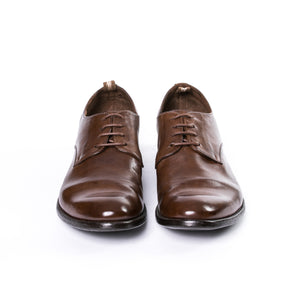 Bufalo Arc 510 Ignis T. Cigar Derby Shoes - Sydney's, Toronto, Bespoke Suit, Made-to-Measure, Custom Suit,