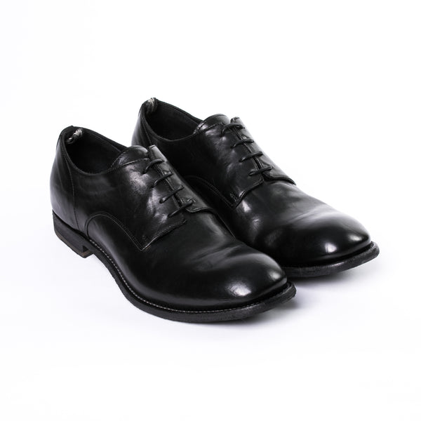 Arbus Rome T. Nero Derby Shoes - Sydney's, Toronto, Bespoke Suit, Made-to-Measure, Custom Suit,
