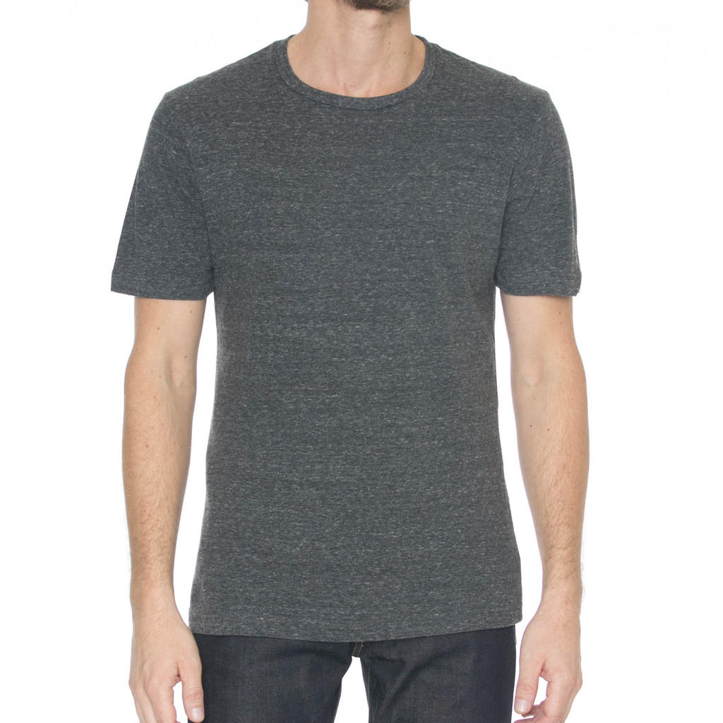 United Stock Dry Goods Charcoal Nep T-Shirt