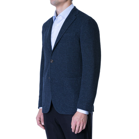 Coal Melange Tweed Sport Jacket