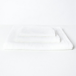 Gauze Cotton Hand Towel, White
