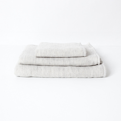 Claire Towel Set, Silver Grey