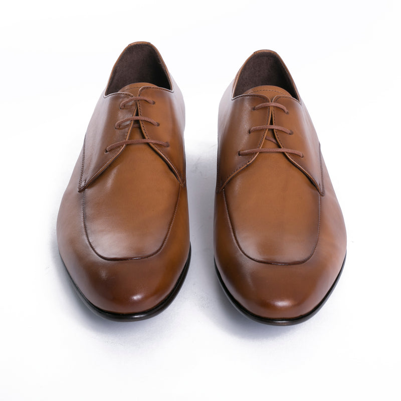 Burnished Tobacco Moc Apron Dress Shoes