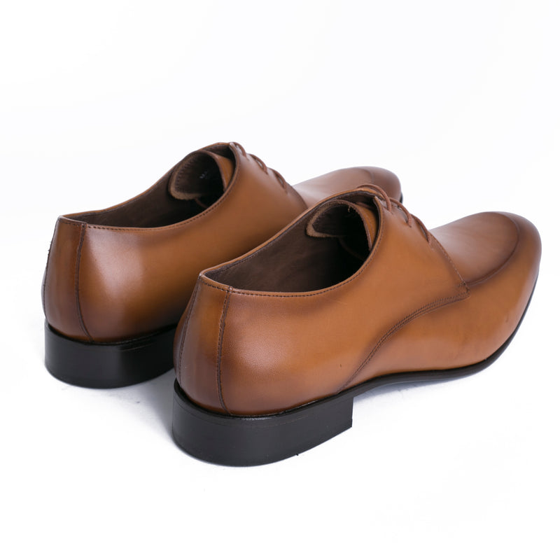 Tobacco Moc Apron Dress Shoes