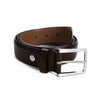 Brown Leather Dress Belt - Sydney's, Toronto, Bespoke Suit, Made-to-Measure, Custom Suit,