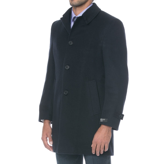 Wool/Cashmere French Navy Coat