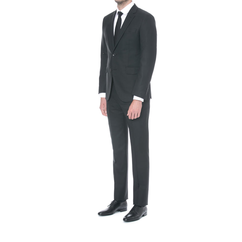 Black Primo Wool Suit - Sydney's, Toronto, Bespoke Suit, Made-to-Measure, Custom Suit,