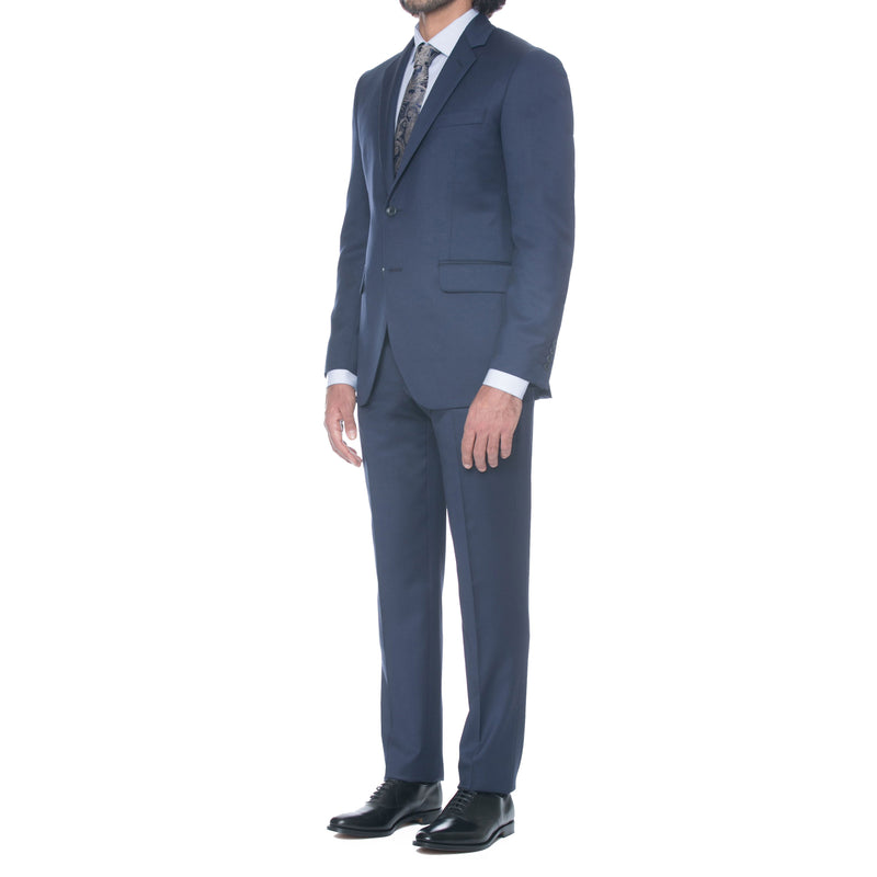 Bright Navy Wool Suit - Sydney's, Toronto, Bespoke Suit, Made-to-Measure, Custom Suit,